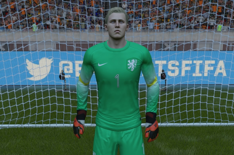Jasper Cillessen in Fifa 16